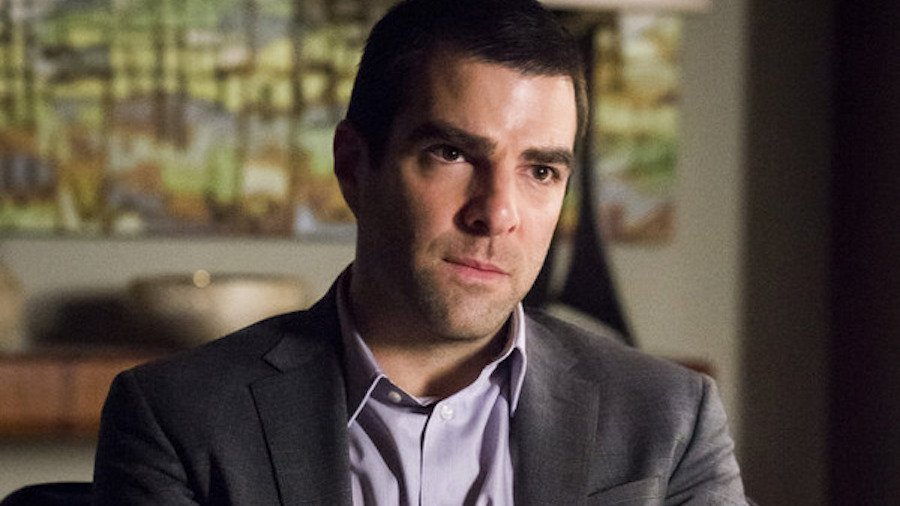 "HANNIBAL -- ""...and the Woman Clothed in the Sun"" Episode 310 -- Pictured: Zachary Quinto as Neil Frank -- (Photo by: Brooke Palmer/NBC)"
